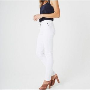 AG White Prima Jeans